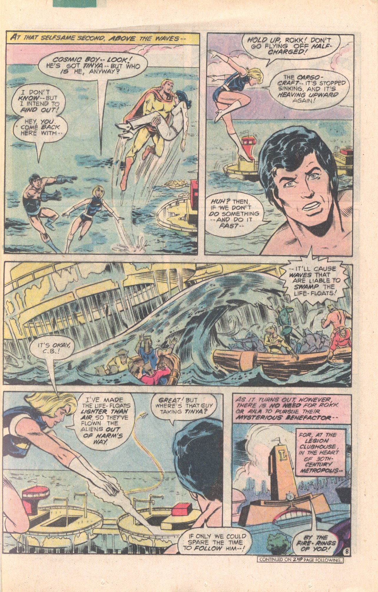 Legion of Super-Heroes (1980) 277 Page 8
