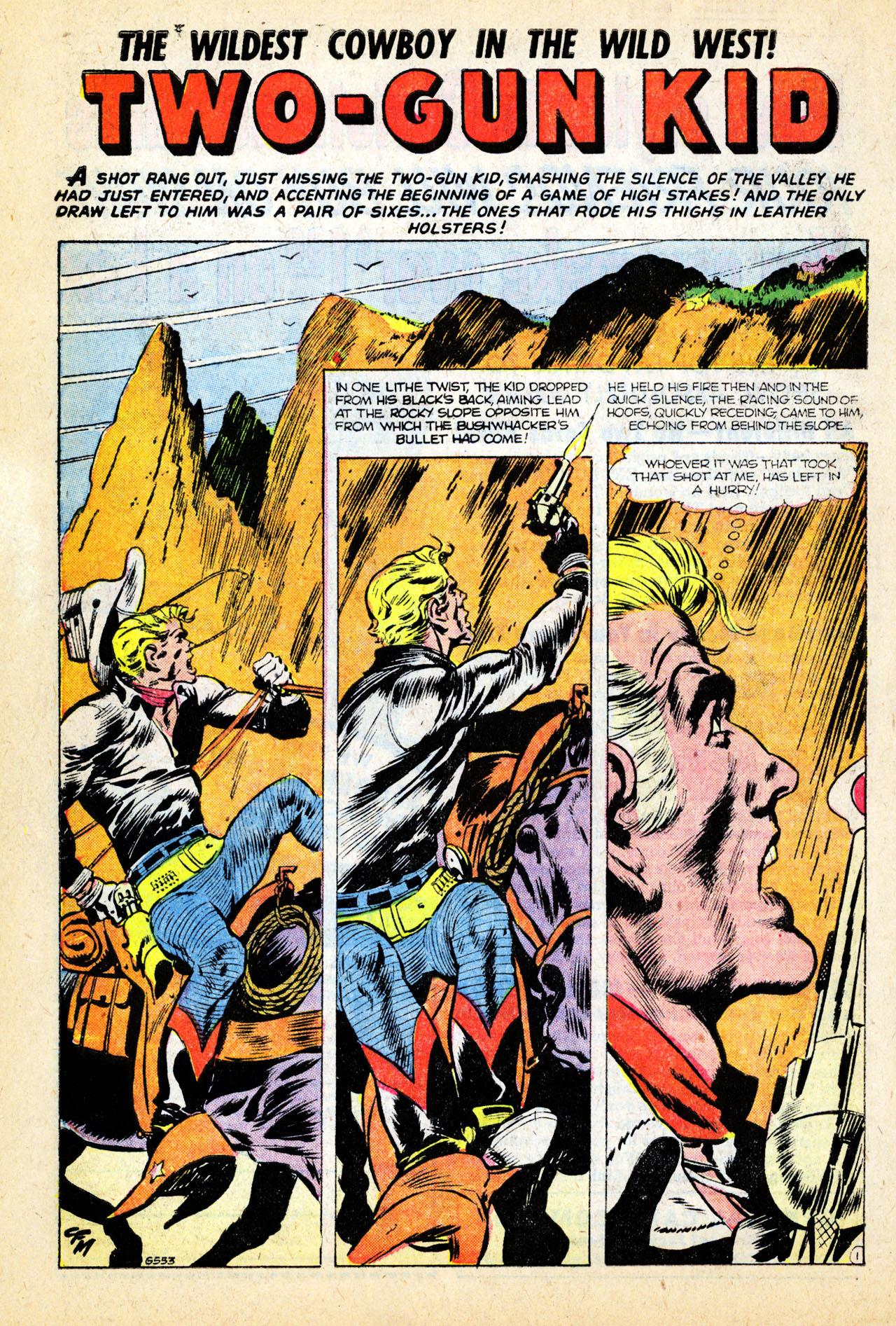 Read online Two-Gun Kid comic -  Issue #26 - 10