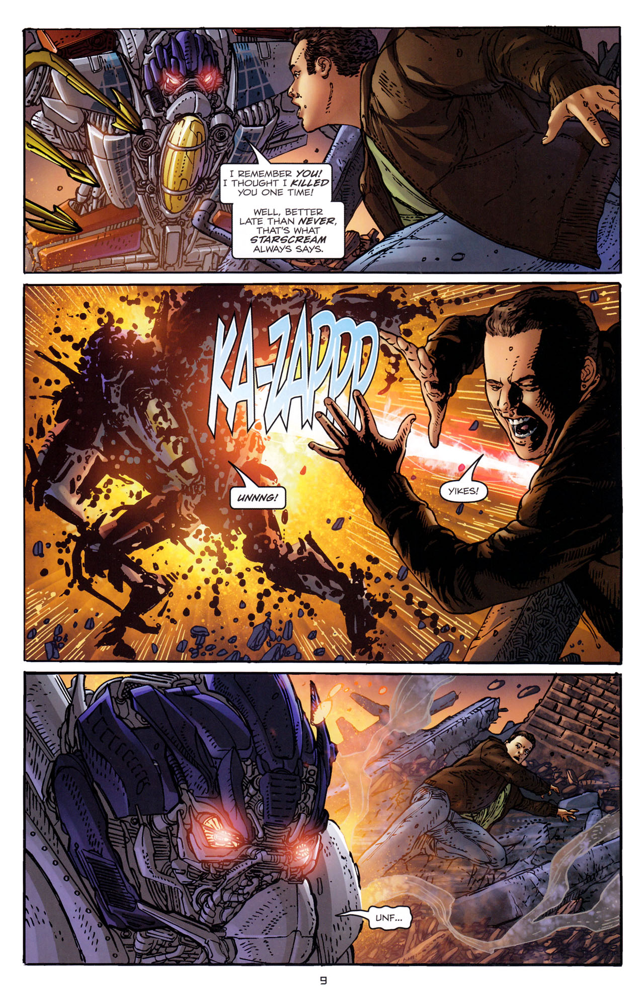 Read online Transformers: Dark of the Moon Rising Storm comic -  Issue #3 - 10