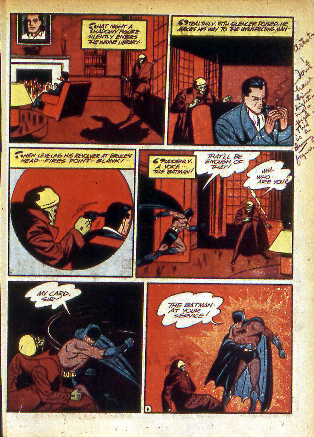 Read online Detective Comics (1937) comic -  Issue #42 - 13