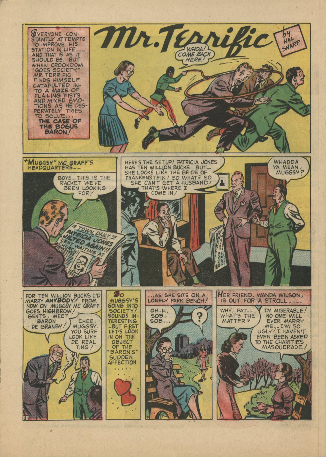 Read online Sensation (Mystery) Comics comic -  Issue #21 - 34