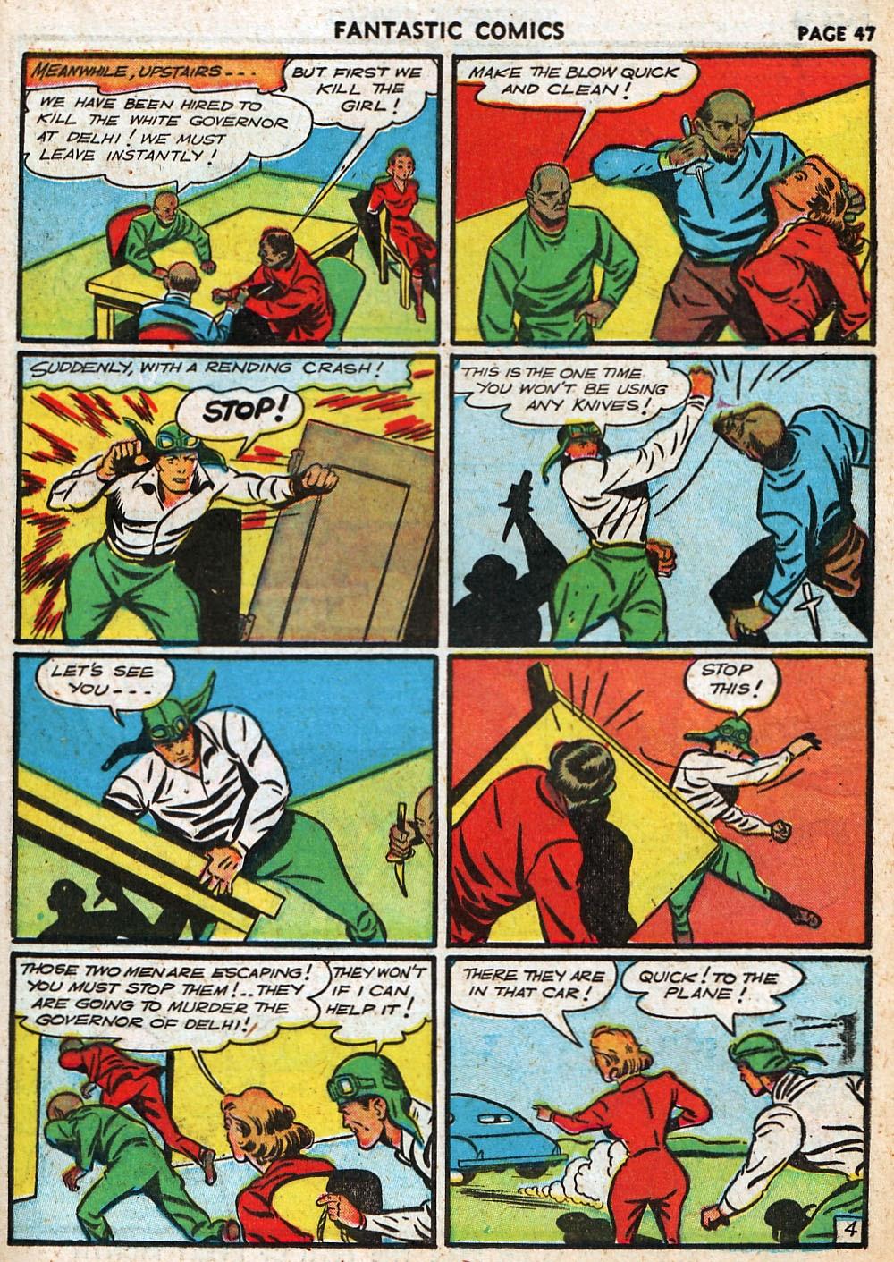 Read online Fantastic Comics comic -  Issue #20 - 47