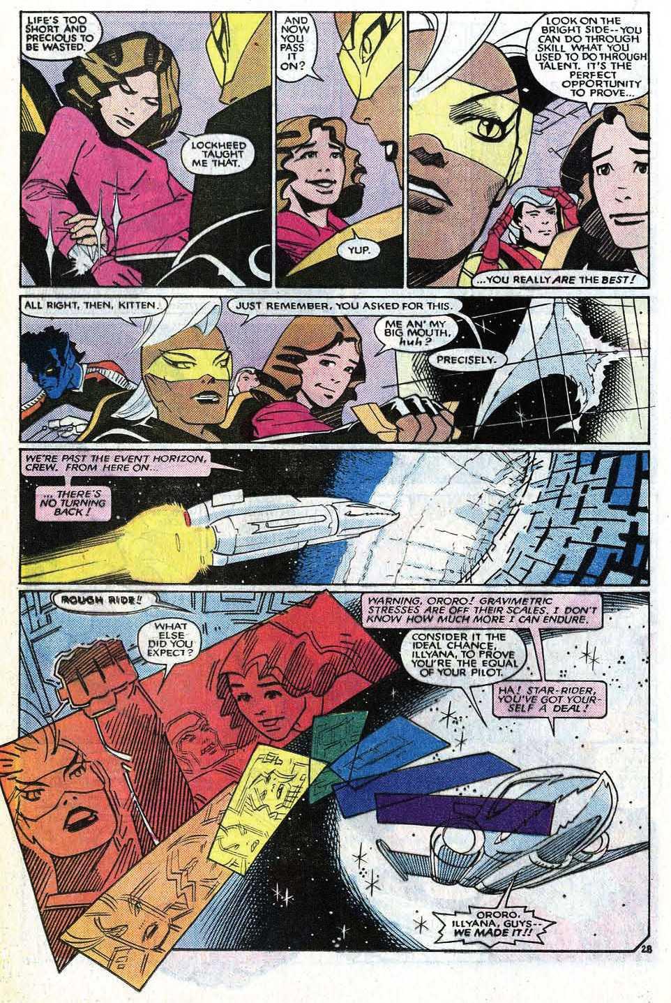 Read online Uncanny X-Men (1963) comic -  Issue # _Annual 8 - 34