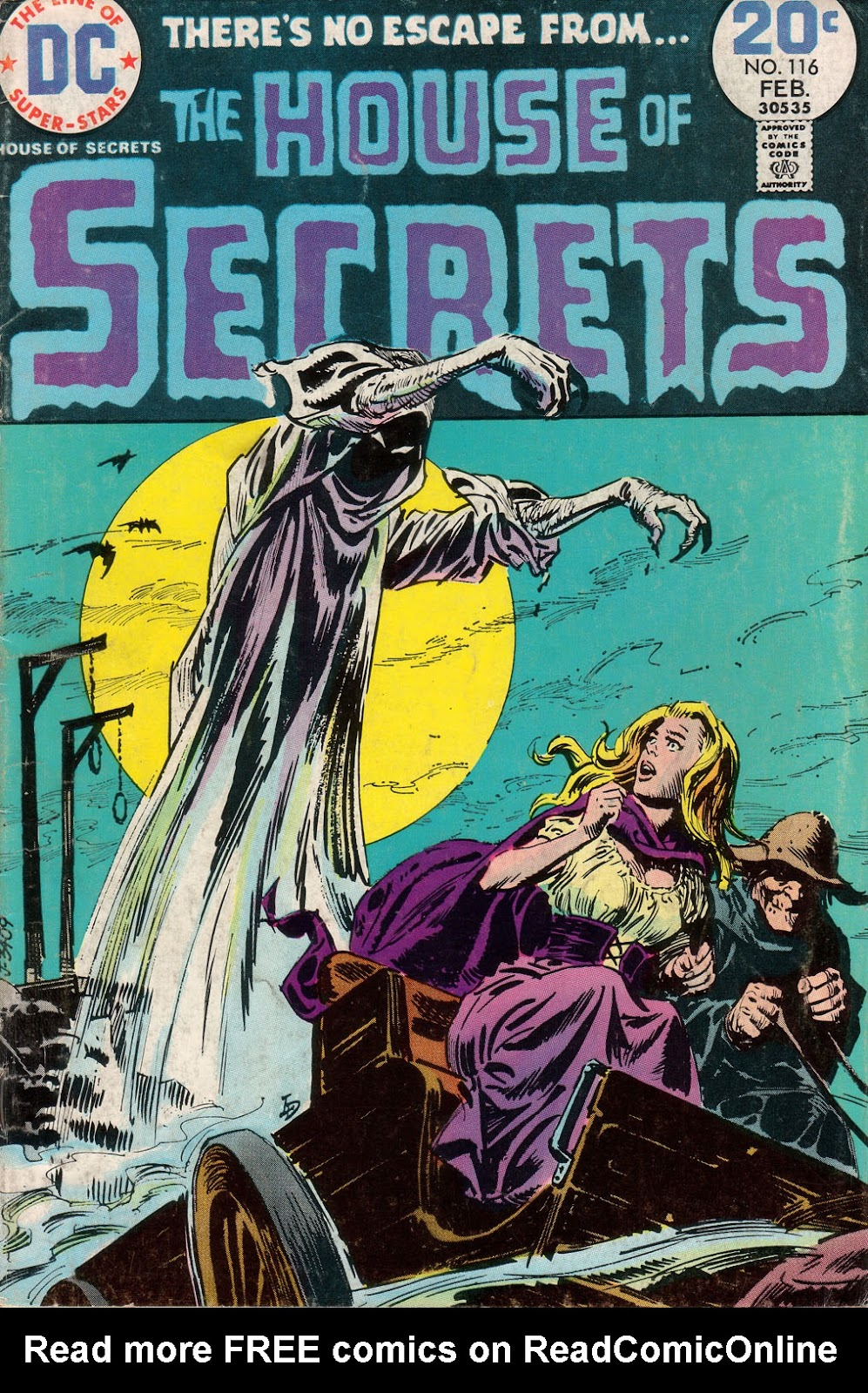 House of Secrets (1956) issue 116 - Page 1
