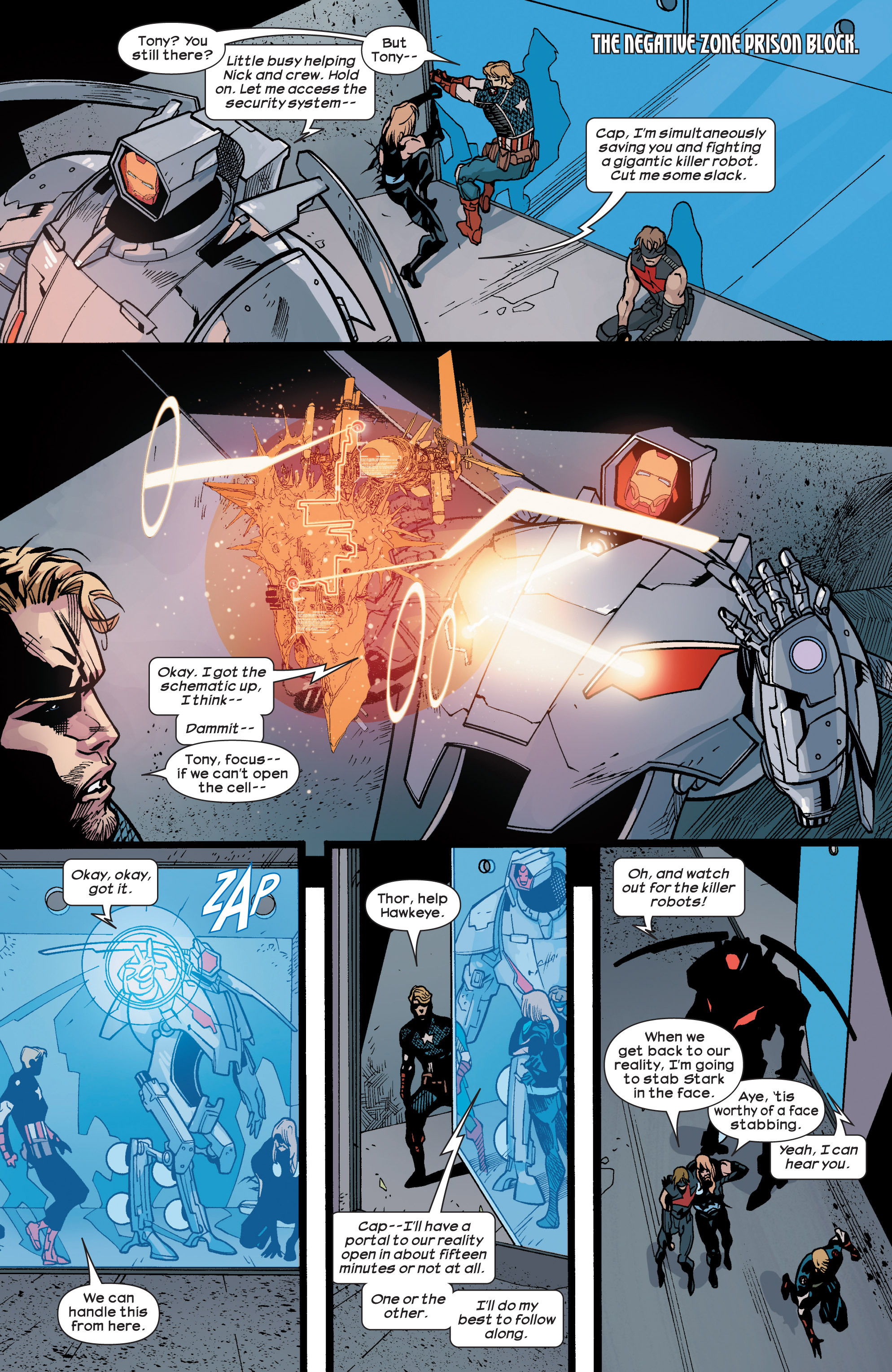 Read online Ultimate Comics Ultimates comic -  Issue #29 - 8