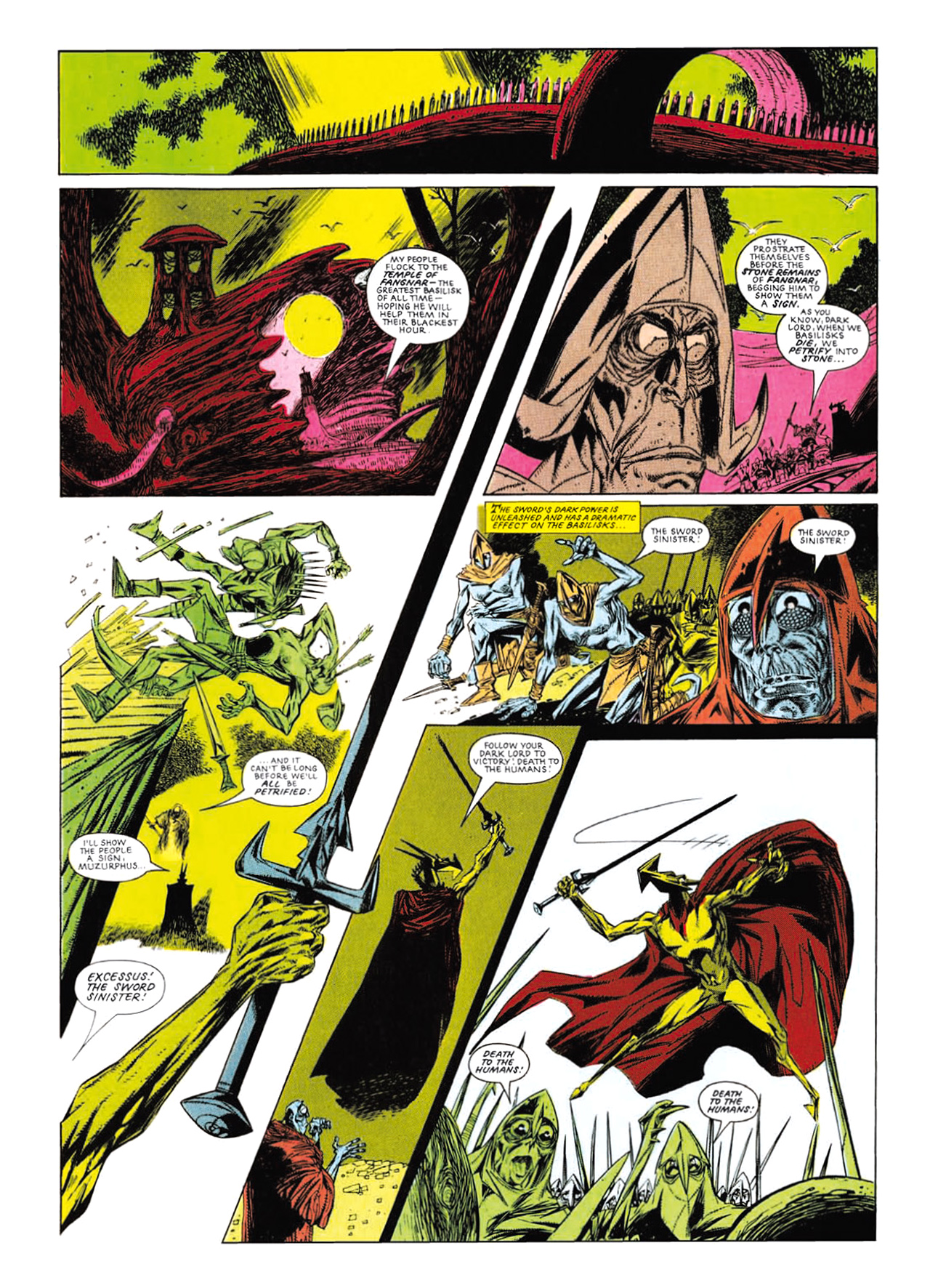 Read online Nemesis The Warlock comic -  Issue # TPB Deviant Edition - 182