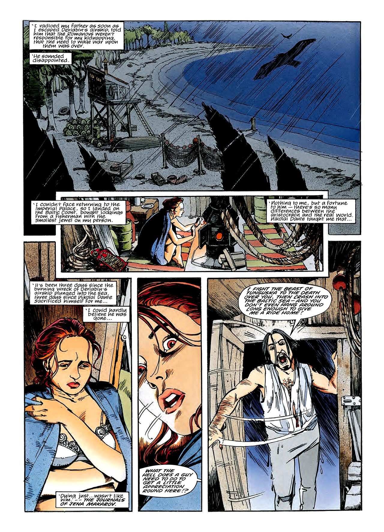 Read online Nikolai Dante comic -  Issue # TPB 3 - 126