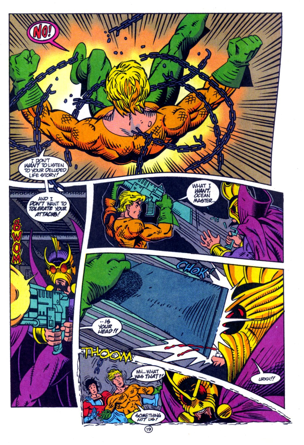 Read online Aquaman: Time and Tide comic -  Issue #4 - 20