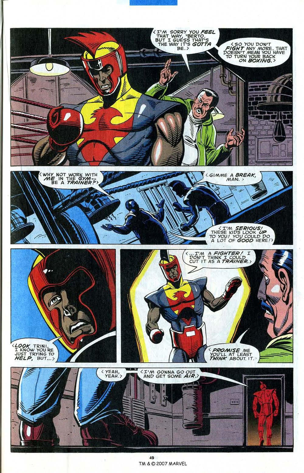 Read online Captain America (1968) comic -  Issue # _Annual 12 - 51