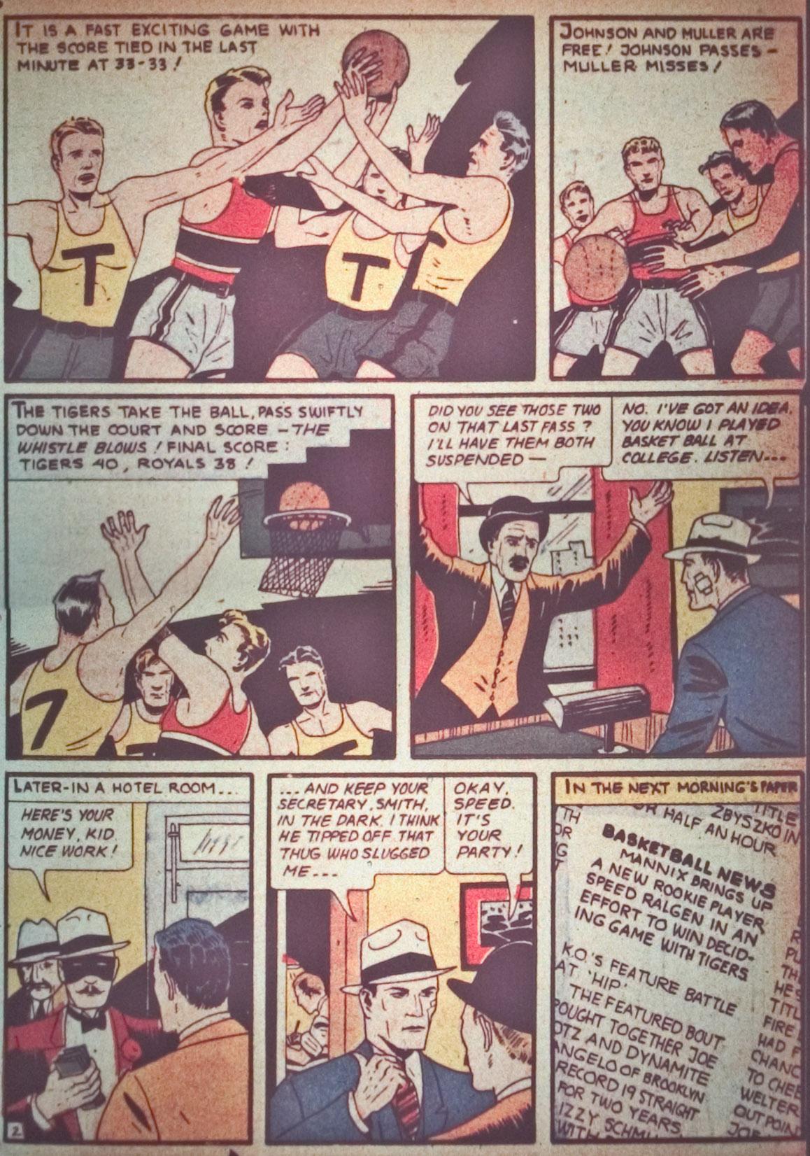 Read online Detective Comics (1937) comic -  Issue #26 - 61