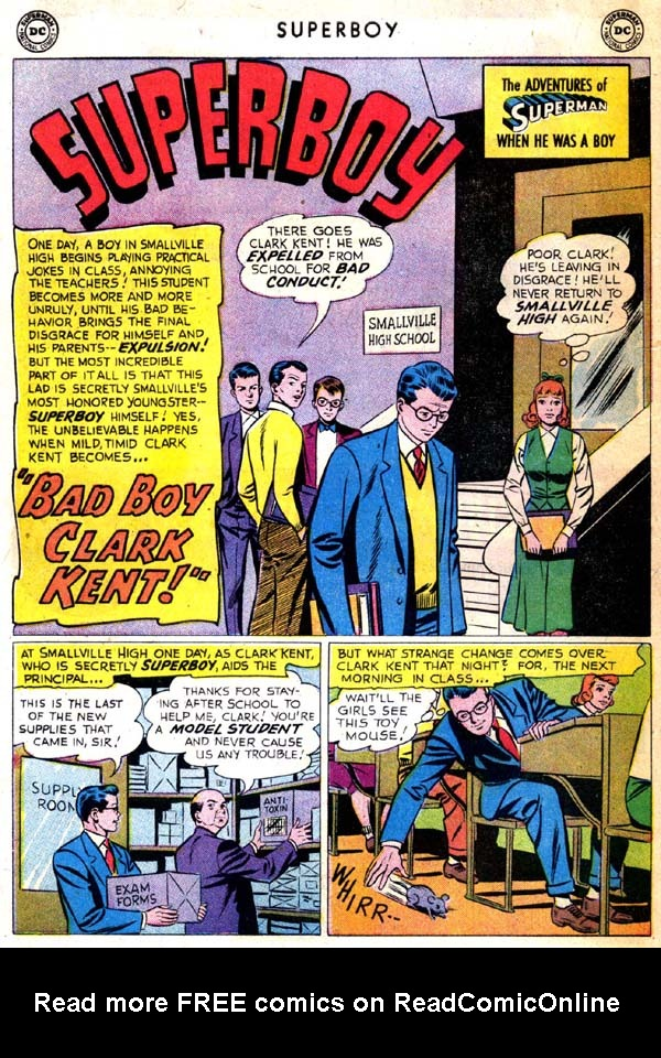 Superboy (1949) issue 71 - Page 11