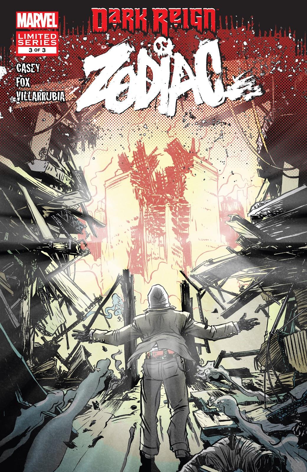 Dark Reign: Zodiac issue 3 - Page 1