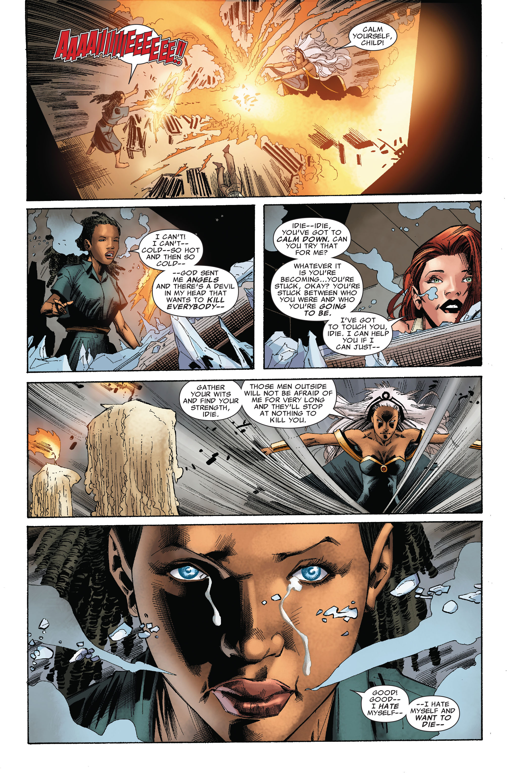 Read online Uncanny X-Men (1963) comic -  Issue #528 - 13