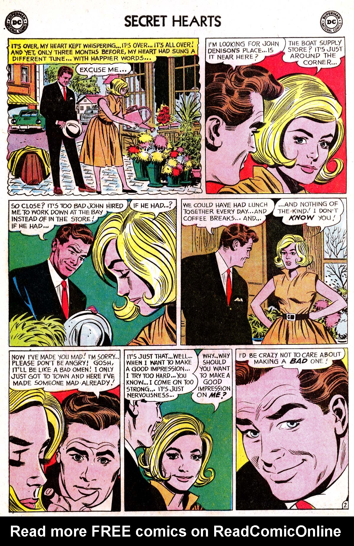 Read online Secret Hearts comic -  Issue #87 - 12