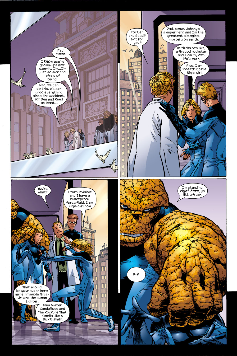 Read online Ultimate Fantastic Four (2004) comic -  Issue #14 - 9