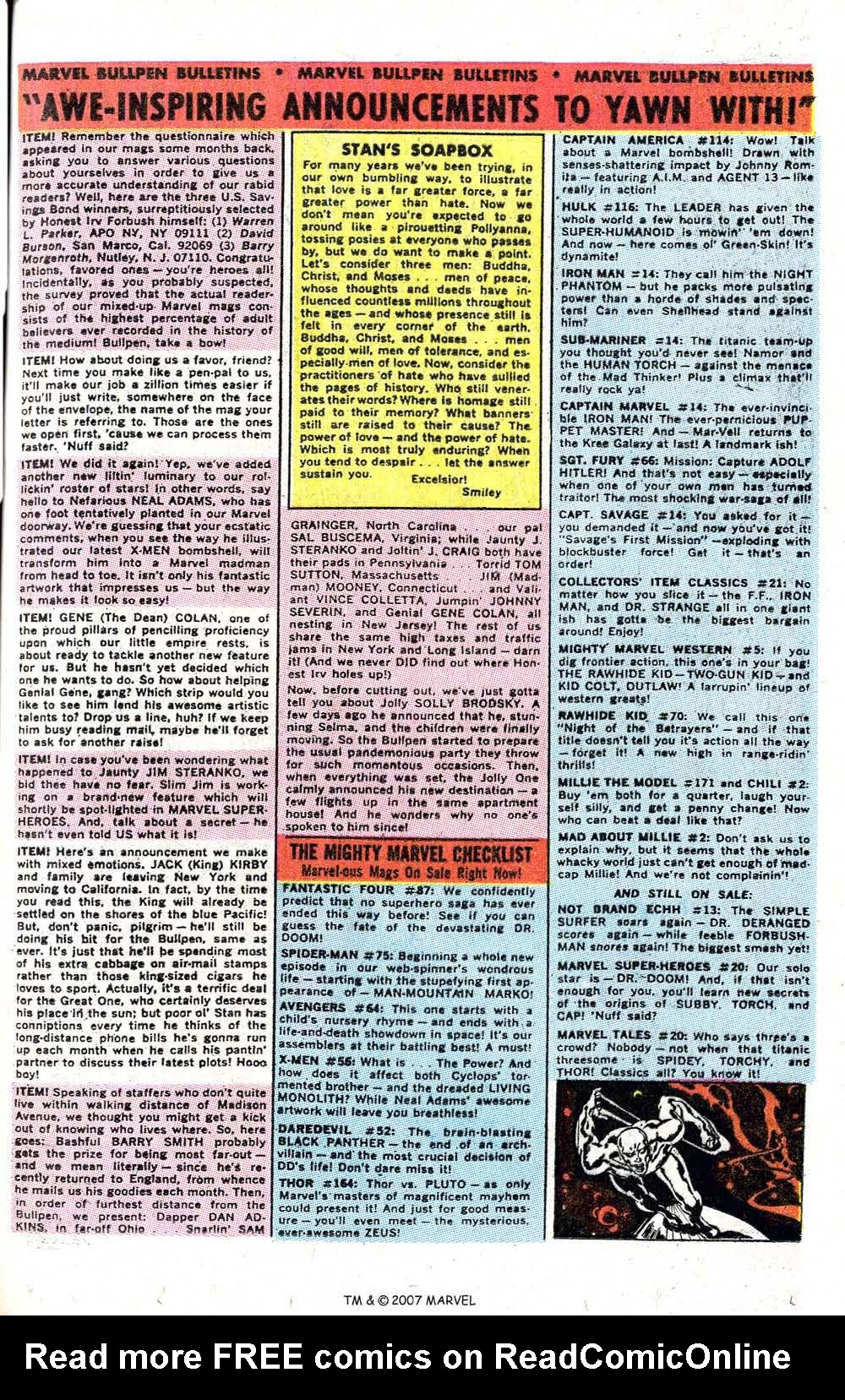 Read online Silver Surfer (1968) comic -  Issue #6 - 49