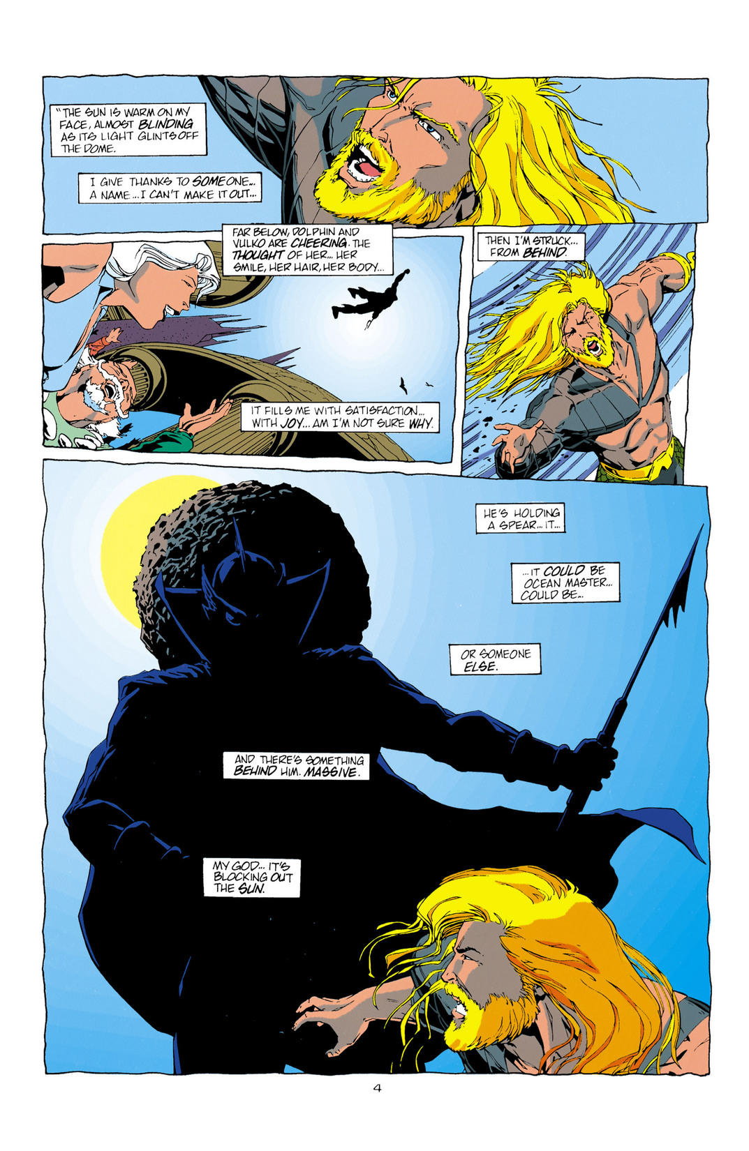 Read online Aquaman (1994) comic -  Issue #10 - 5