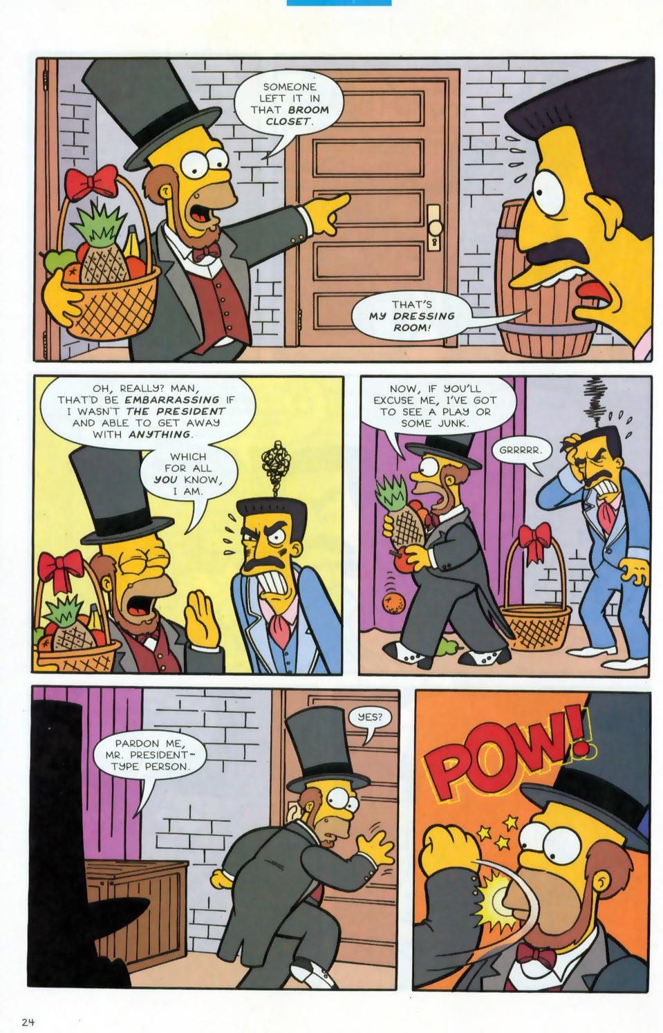 Read online Simpsons Comics comic -  Issue #78 - 25