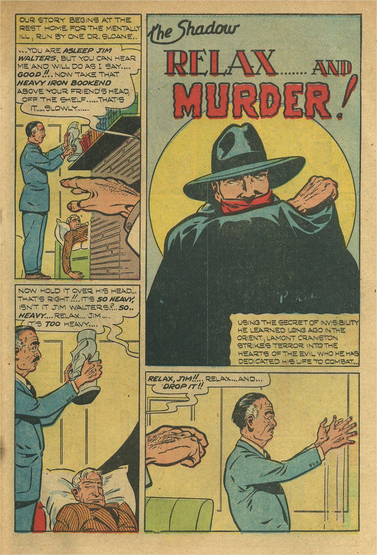 Read online Shadow Comics comic -  Issue #93 - 42