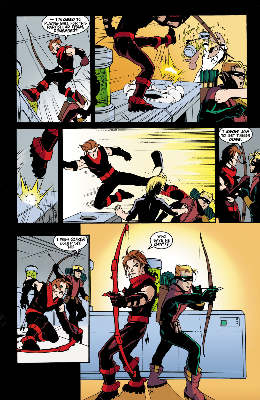 Read online Arsenal comic -  Issue #3 - 9