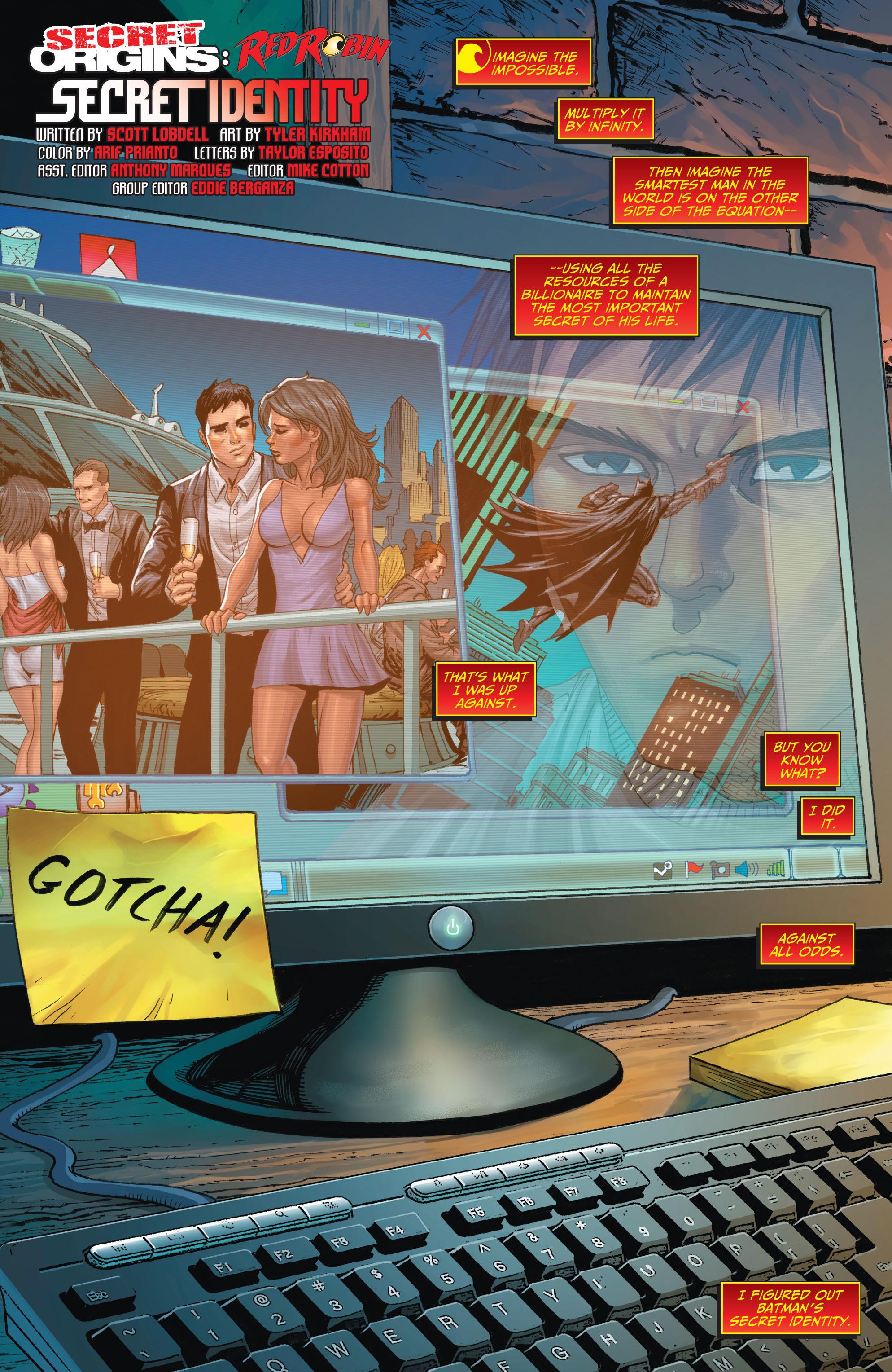 Read online Secret Origins (2014) comic -  Issue #3 - 26