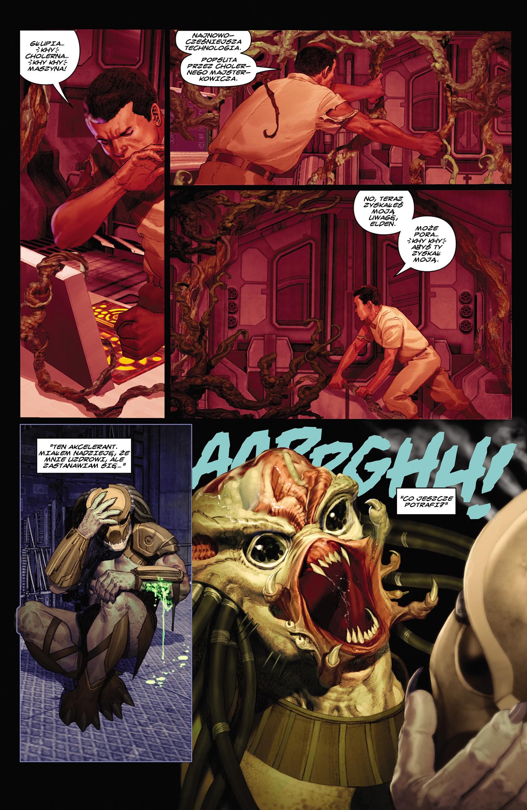 Read online Alien vs. Predator: Fire and Stone comic -  Issue #2 - 13