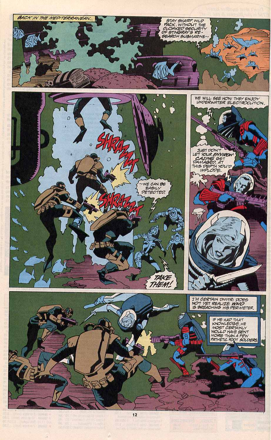 Read online Silver Sable and the Wild Pack comic -  Issue #11 - 10