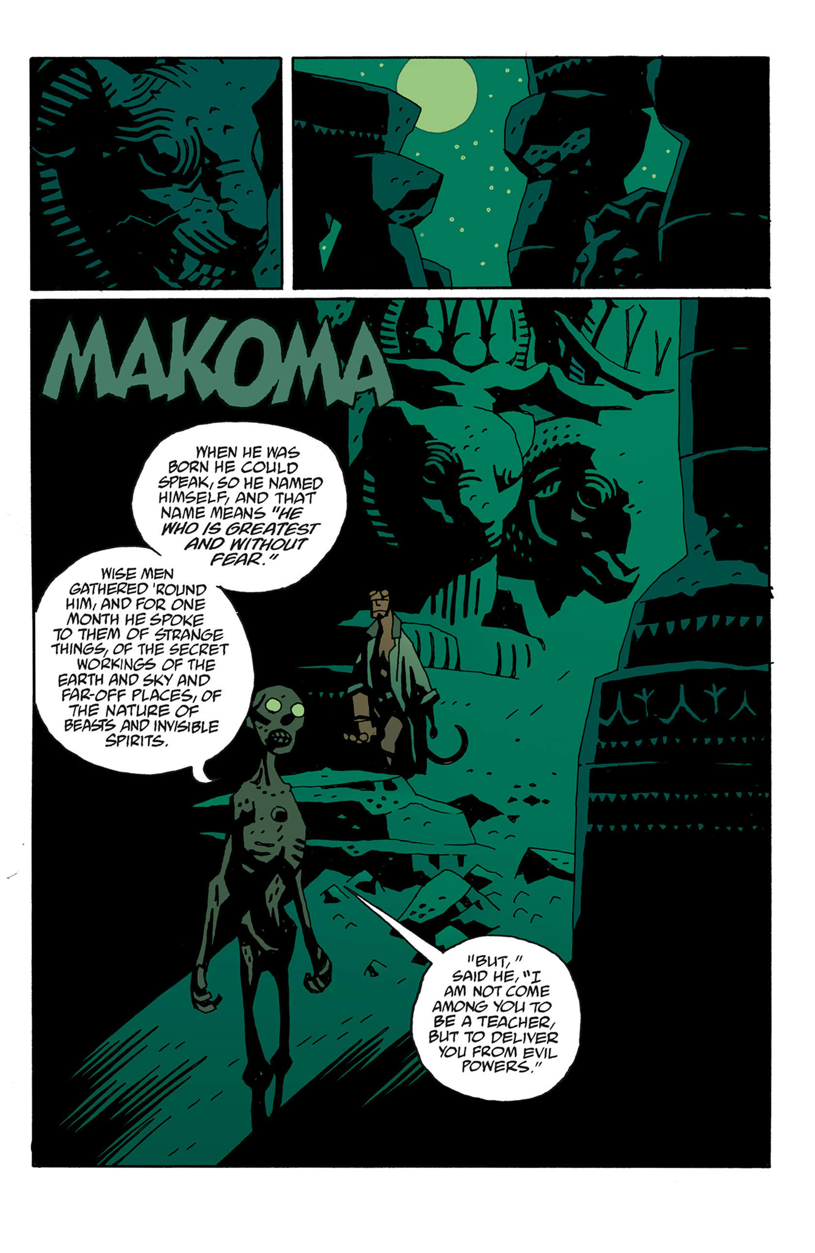 Read online Hellboy: The Troll Witch and Others comic -  Issue # TPB - 89