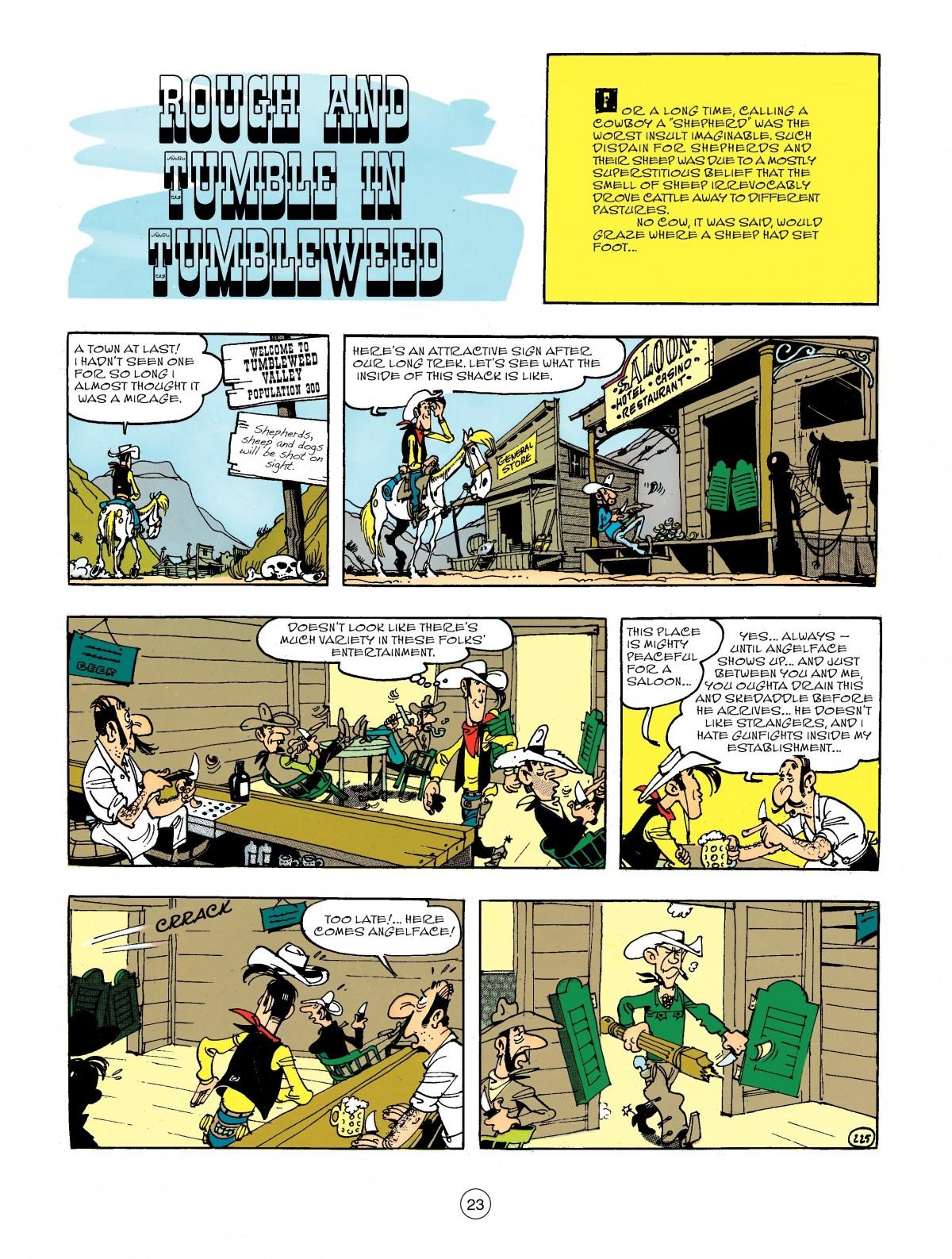 Read online A Lucky Luke Adventure comic -  Issue #44 - 23