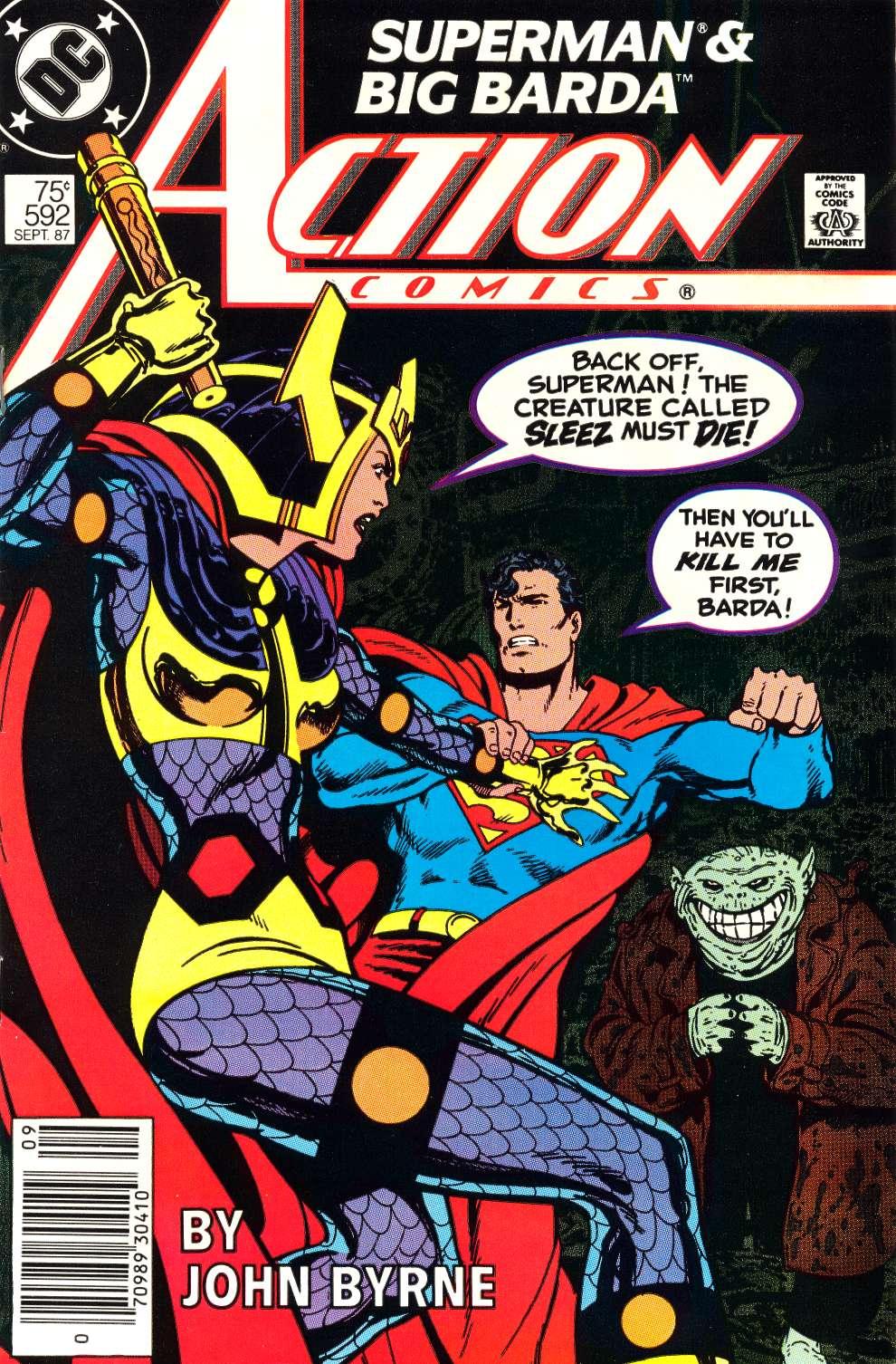 Action Comics (1938) 592 Page 1