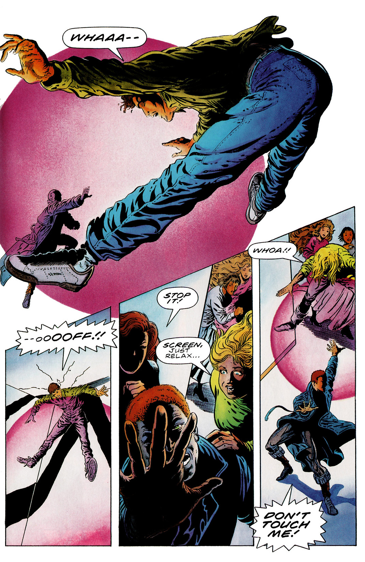 Read online Harbinger (1992) comic -  Issue #18 - 16