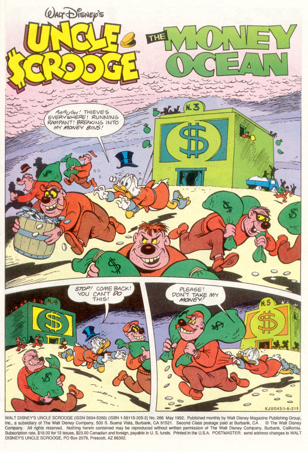 Read online Uncle Scrooge (1953) comic -  Issue #266 - 2