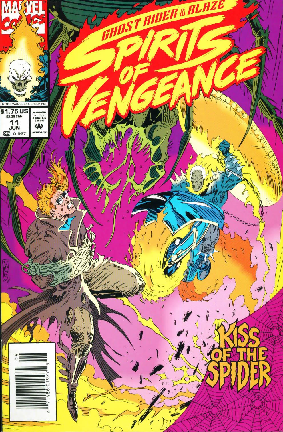 Ghost Rider/Blaze: Spirits of Vengeance 11 Page 1