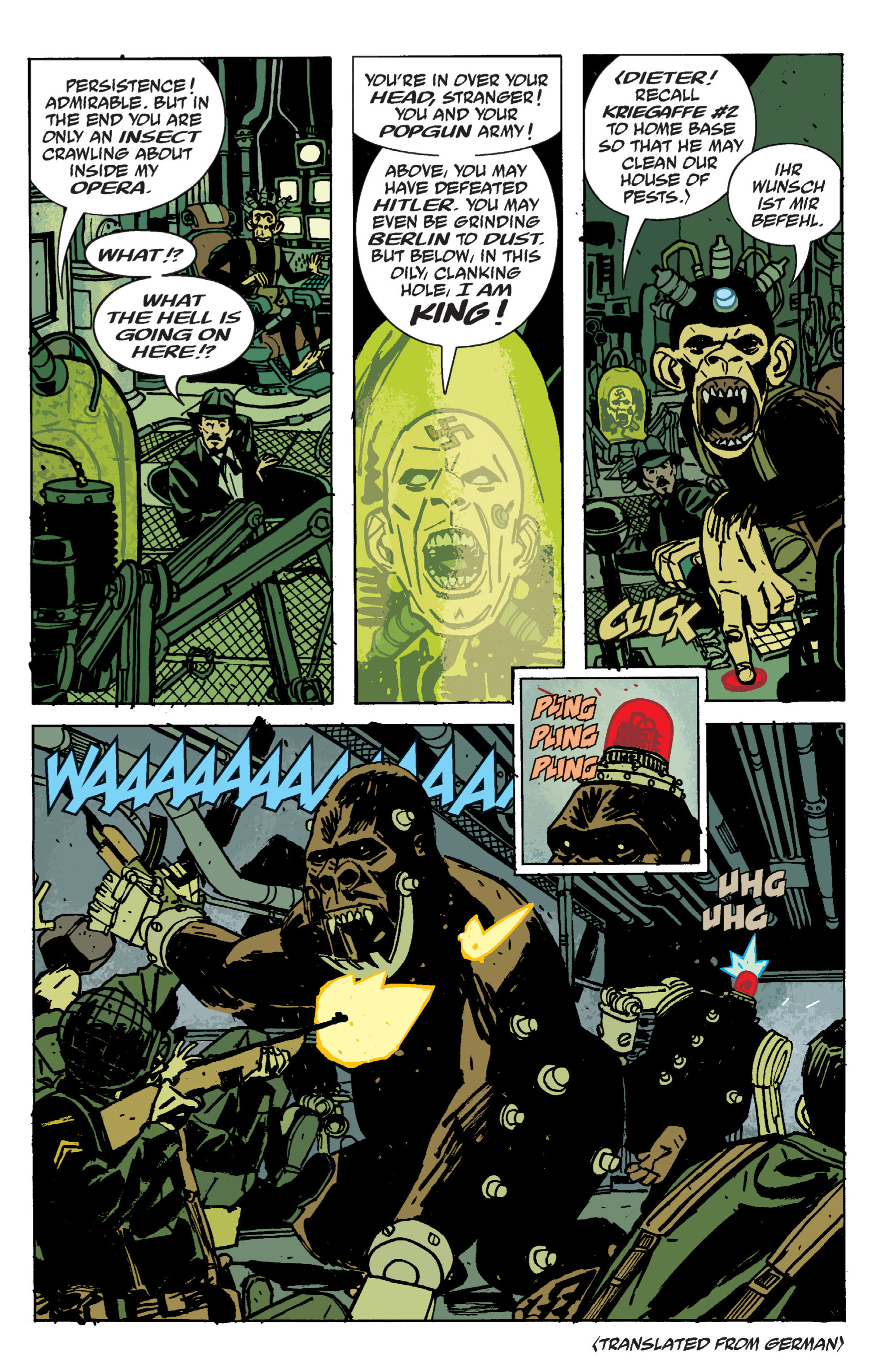 Read online B.P.R.D. (2003) comic -  Issue # TPB 9 - 115