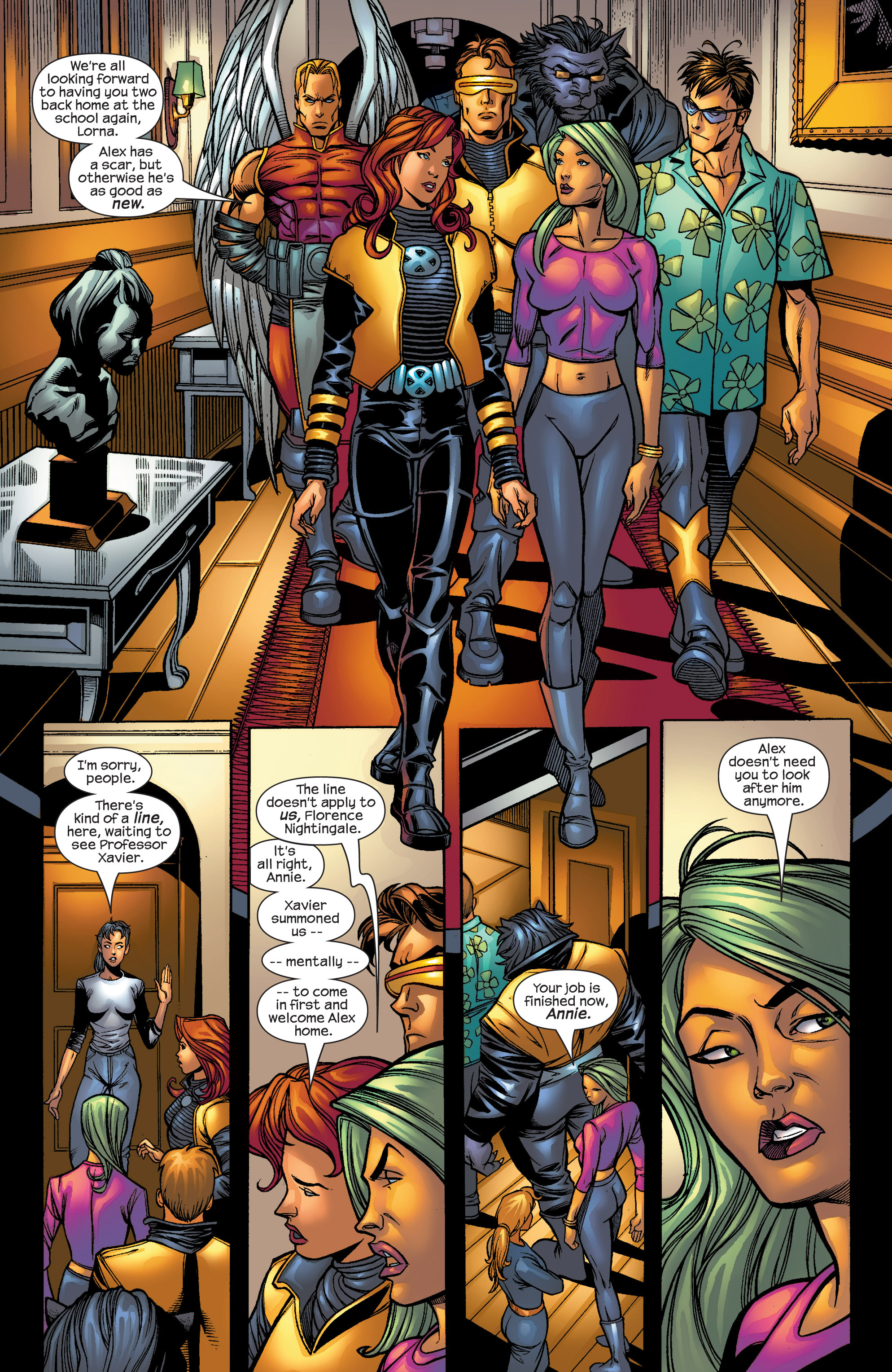 Read online Uncanny X-Men (1963) comic -  Issue #421 - 5