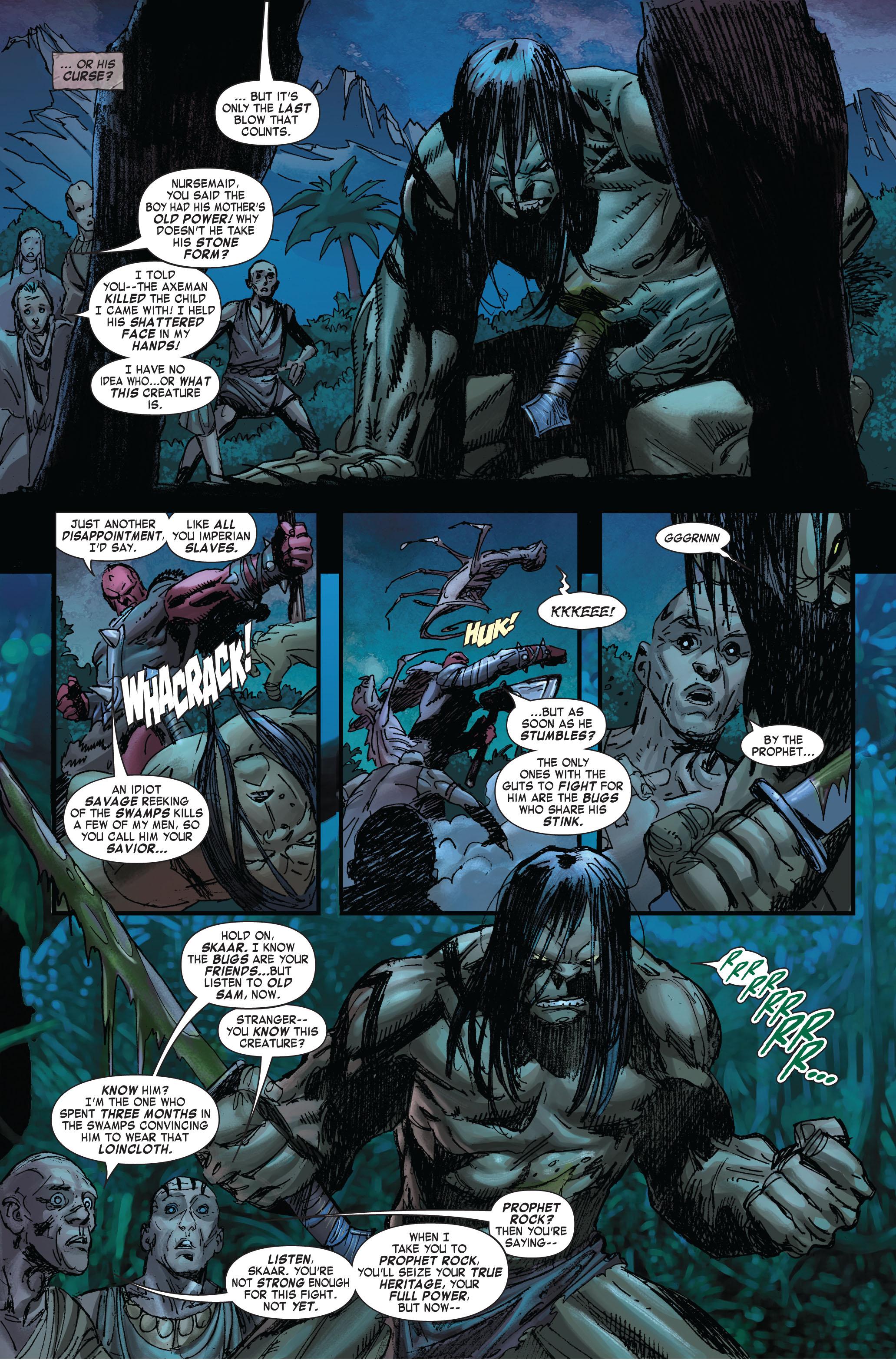Read online Skaar: Son of Hulk comic -  Issue #2 - 4