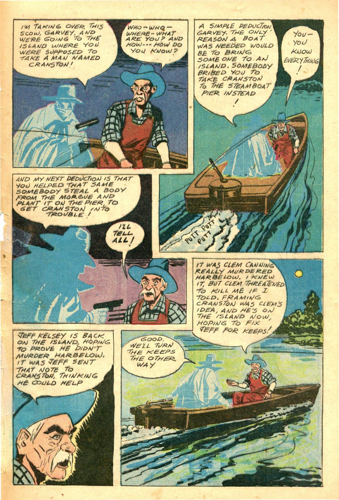 Read online Shadow Comics comic -  Issue #47 - 48