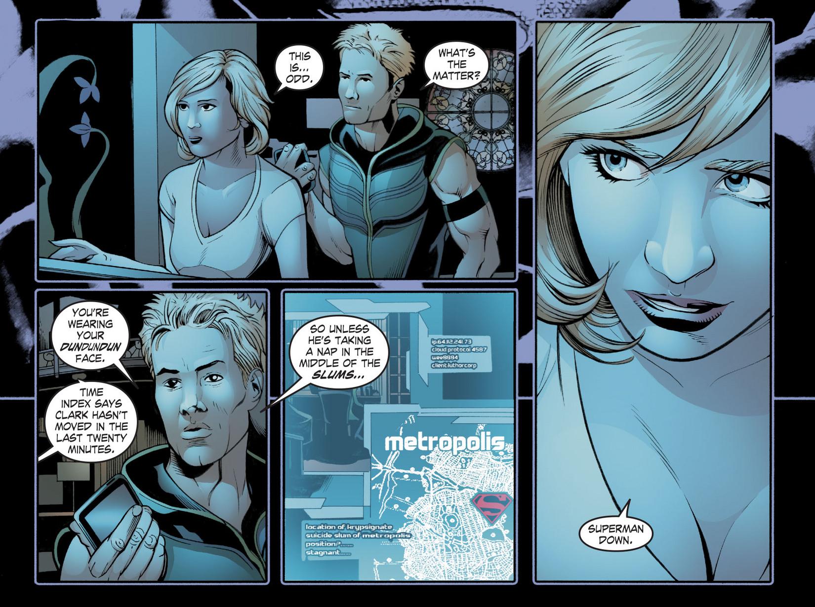 Read online Smallville: Season 11 comic -  Issue #20 - 6