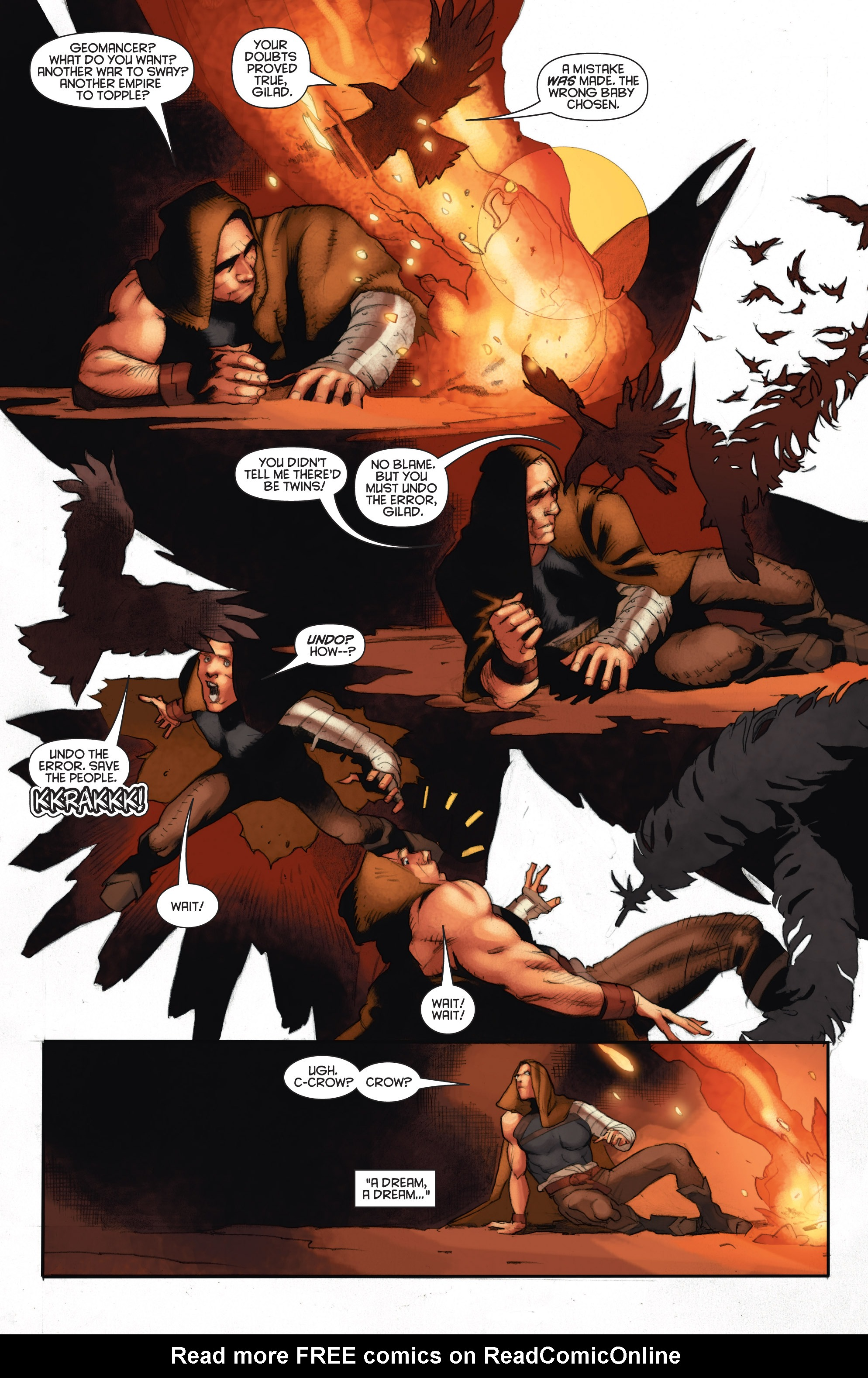 Read online Eternal Warrior: Days of Steel comic -  Issue #2 - 18