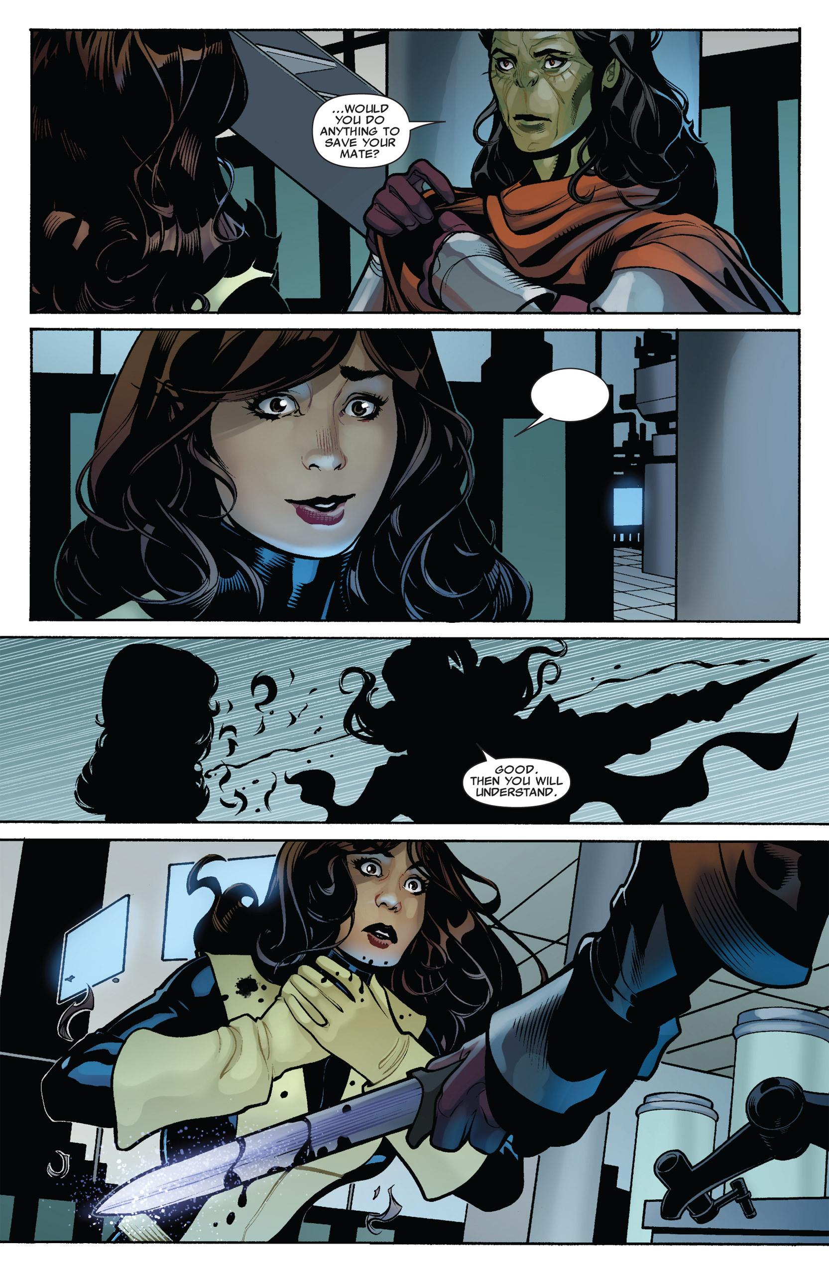 Read online Uncanny X-Men (1963) comic -  Issue #537 - 23