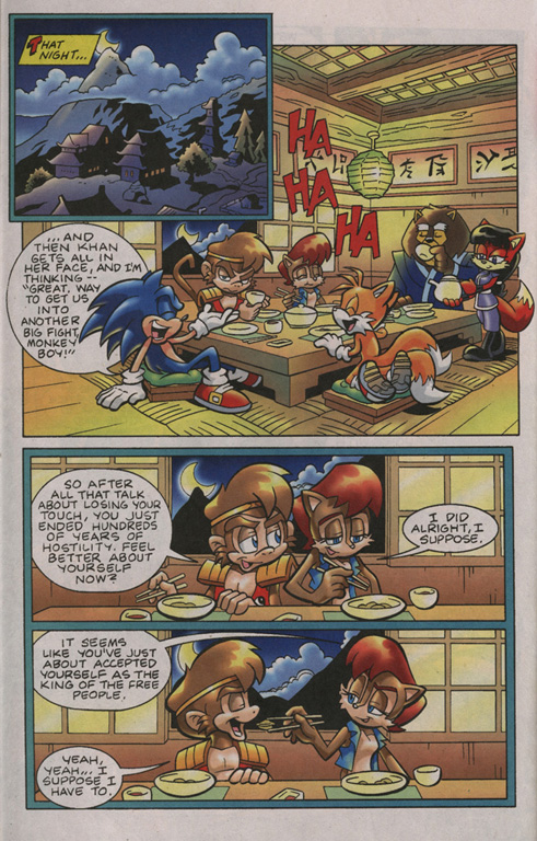 Read online Sonic Universe comic -  Issue #13 - 20