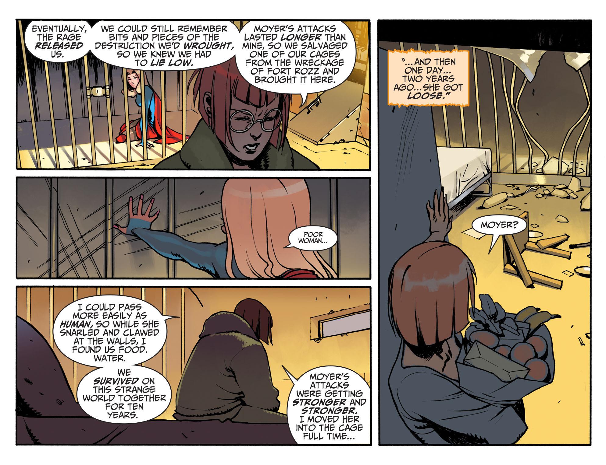 Read online Adventures of Supergirl comic -  Issue #3 - 11