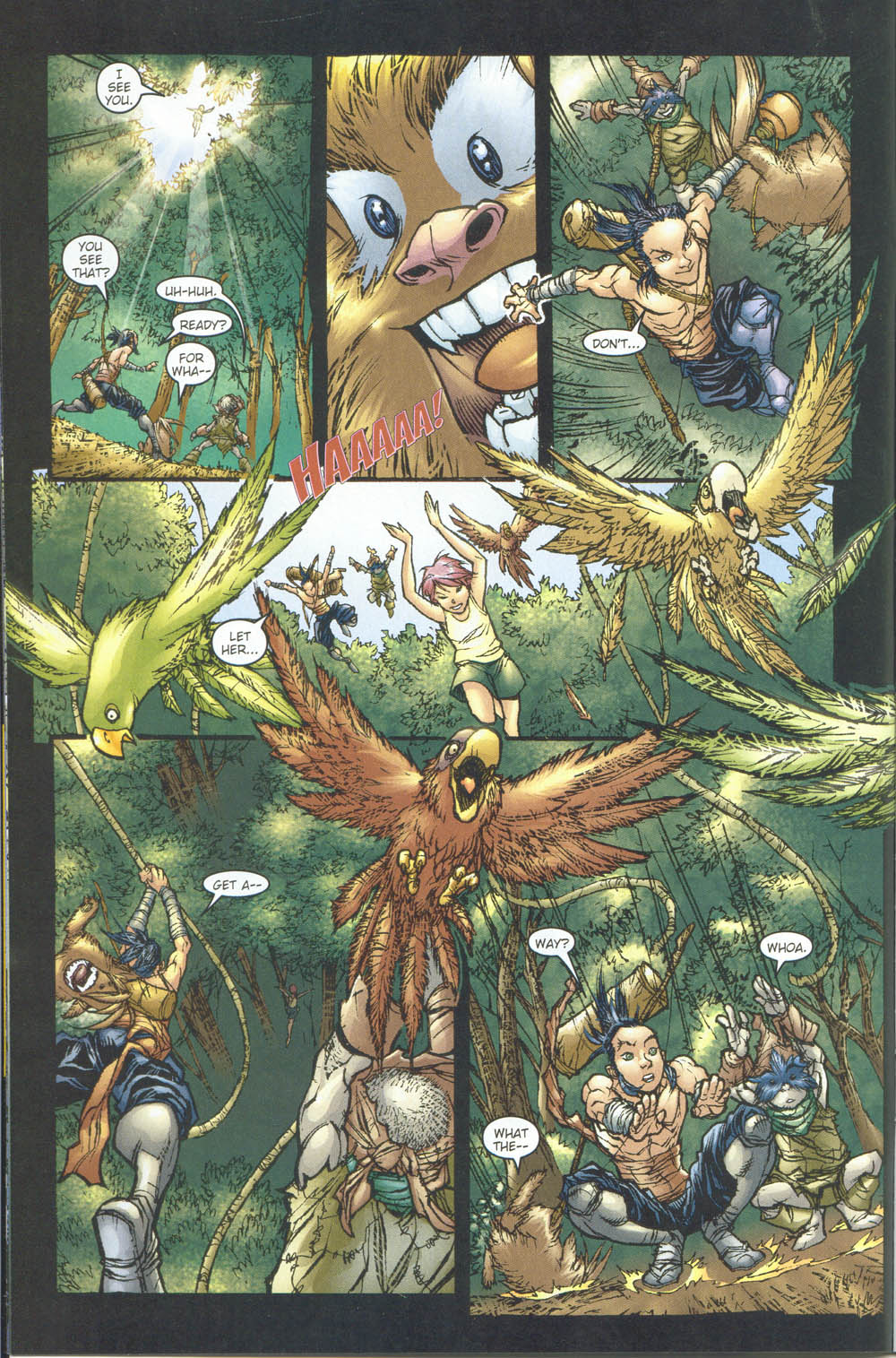Read online Ninja Boy comic -  Issue #5 - 9