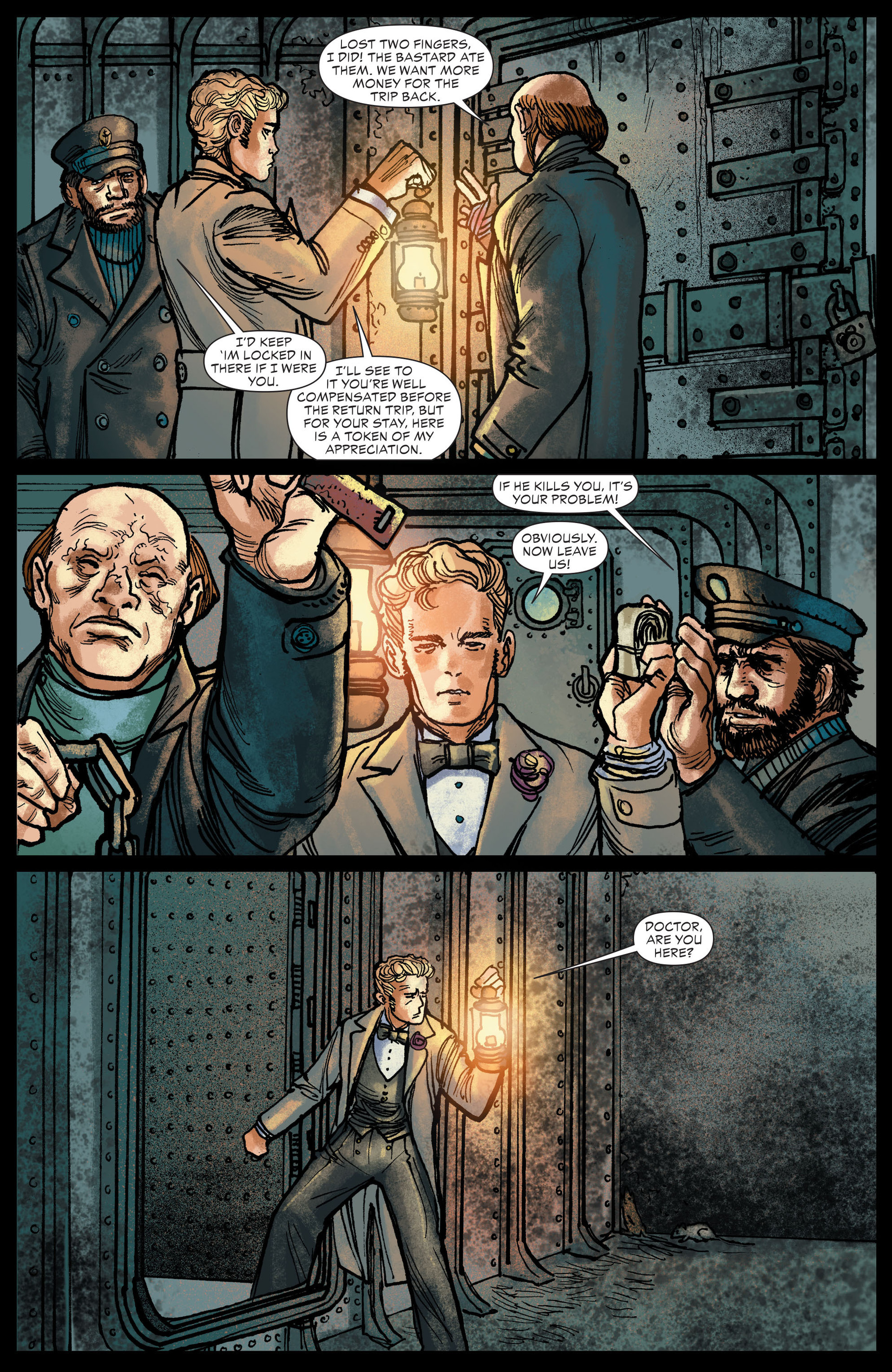 Read online All-Star Western (2011) comic -  Issue #13 - 20