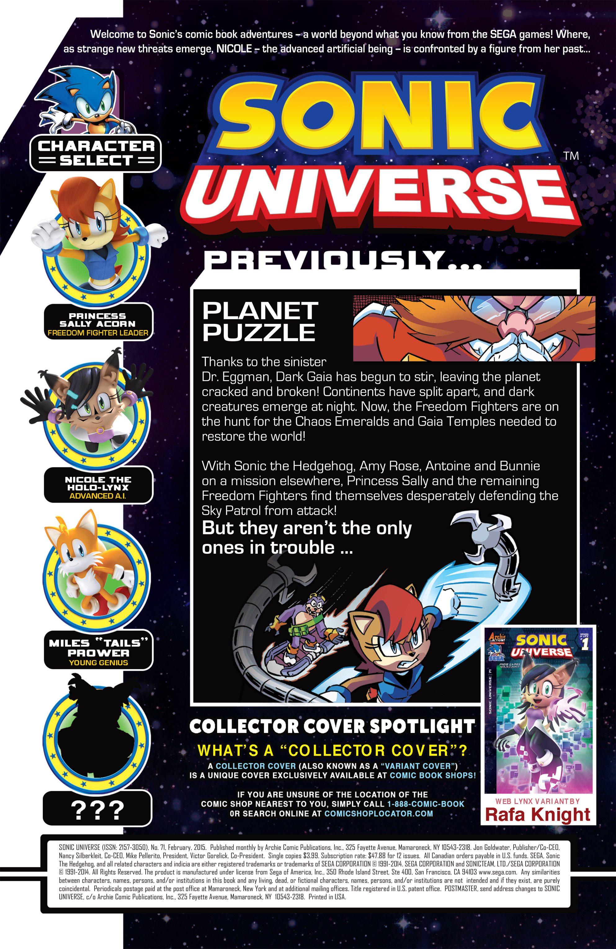 Sonic Universe 71 Page 2