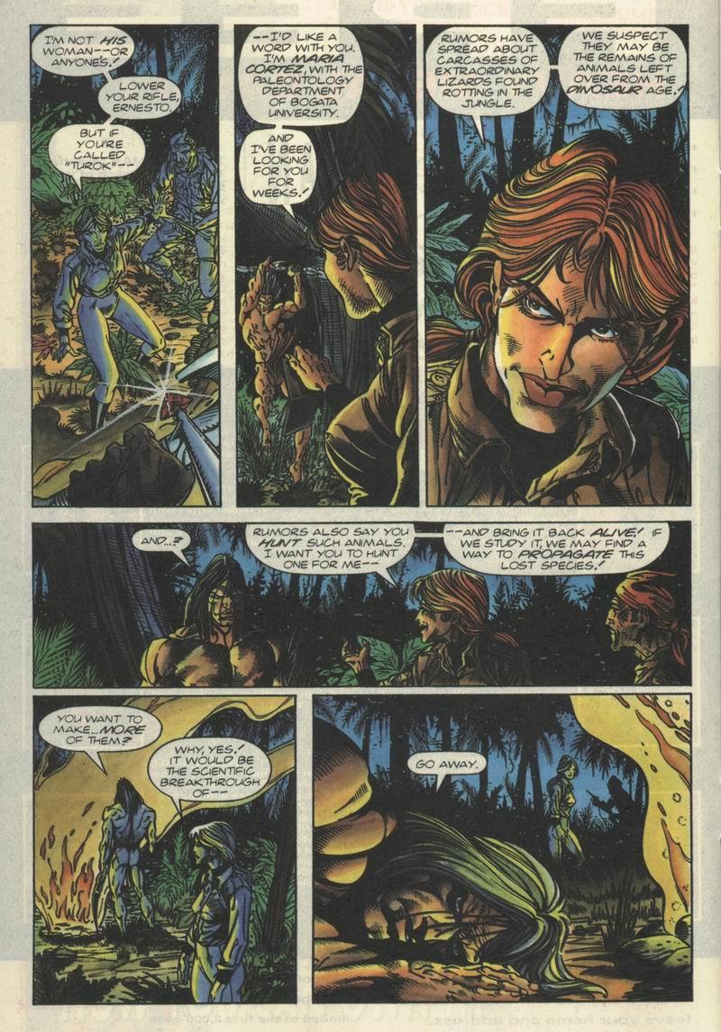 Read online Turok, Dinosaur Hunter (1993) comic -  Issue #2 - 8
