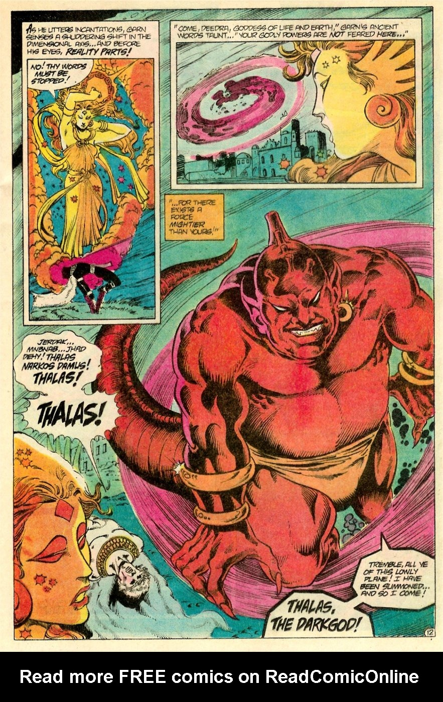 Read online Arion, Lord of Atlantis comic -  Issue #19 - 13