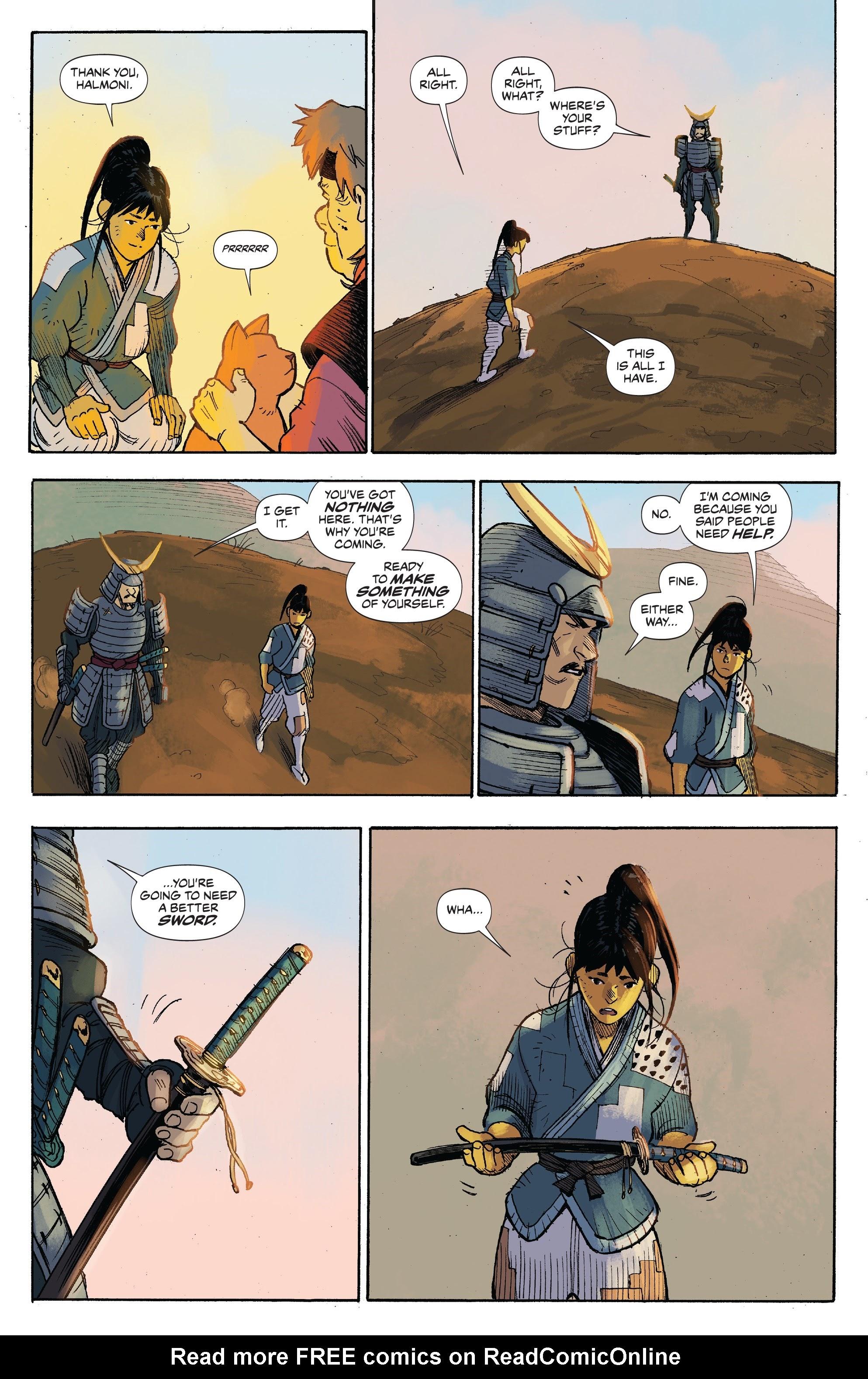 Read online Ronin Island comic -  Issue #3 - 5