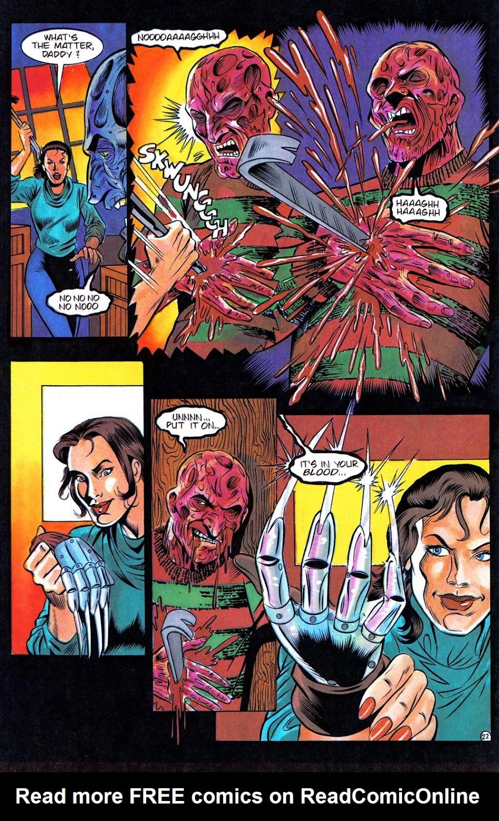 Read online Freddy's Dead: The Final Nightmare comic -  Issue #3 - 25