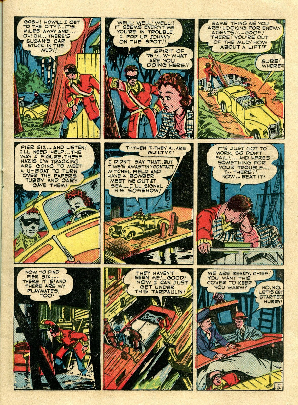 Green Hornet Comics issue 11 - Page 16